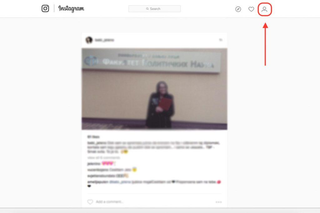 Privremeno obrisati instagram kako nalog svoj Problem s