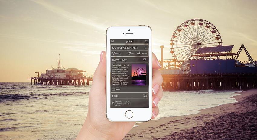 phind - aplikacija za putovanja i turiste