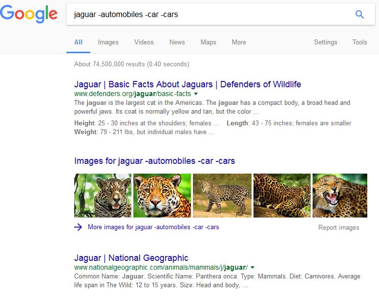 kako se pretrazuje google