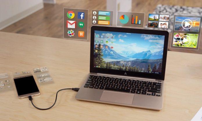 superbook pretvara smartphone u laptop