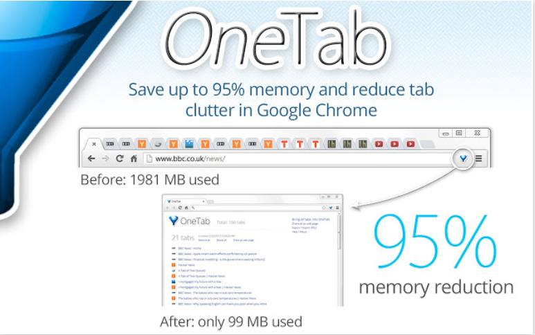 One tab Chrome