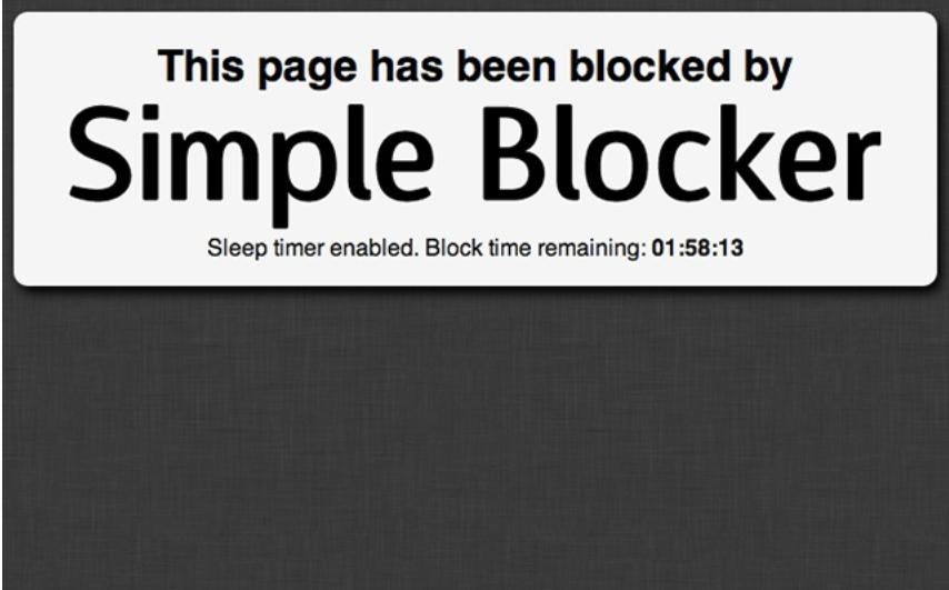 simple Blocker google chrome