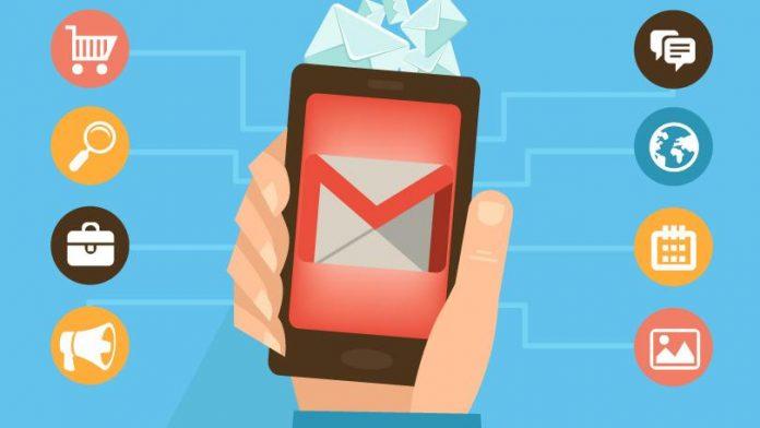 Gmail prima atacmente od 50MB