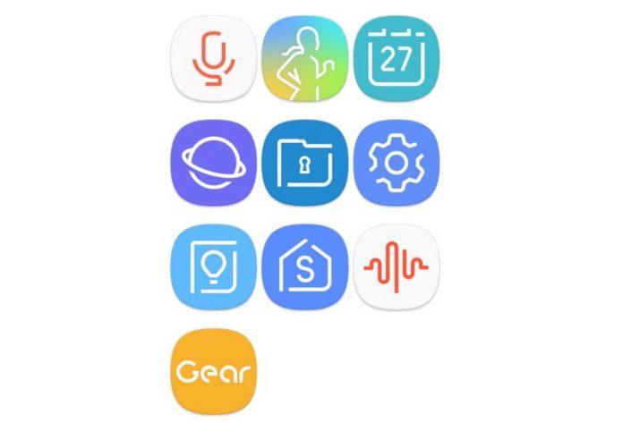 Samsung Galaxy S8 interfejs i ikonice