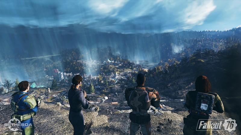 fallout 76 gameplay e3