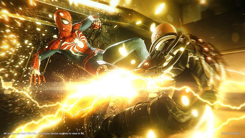 spider man gameplay e3