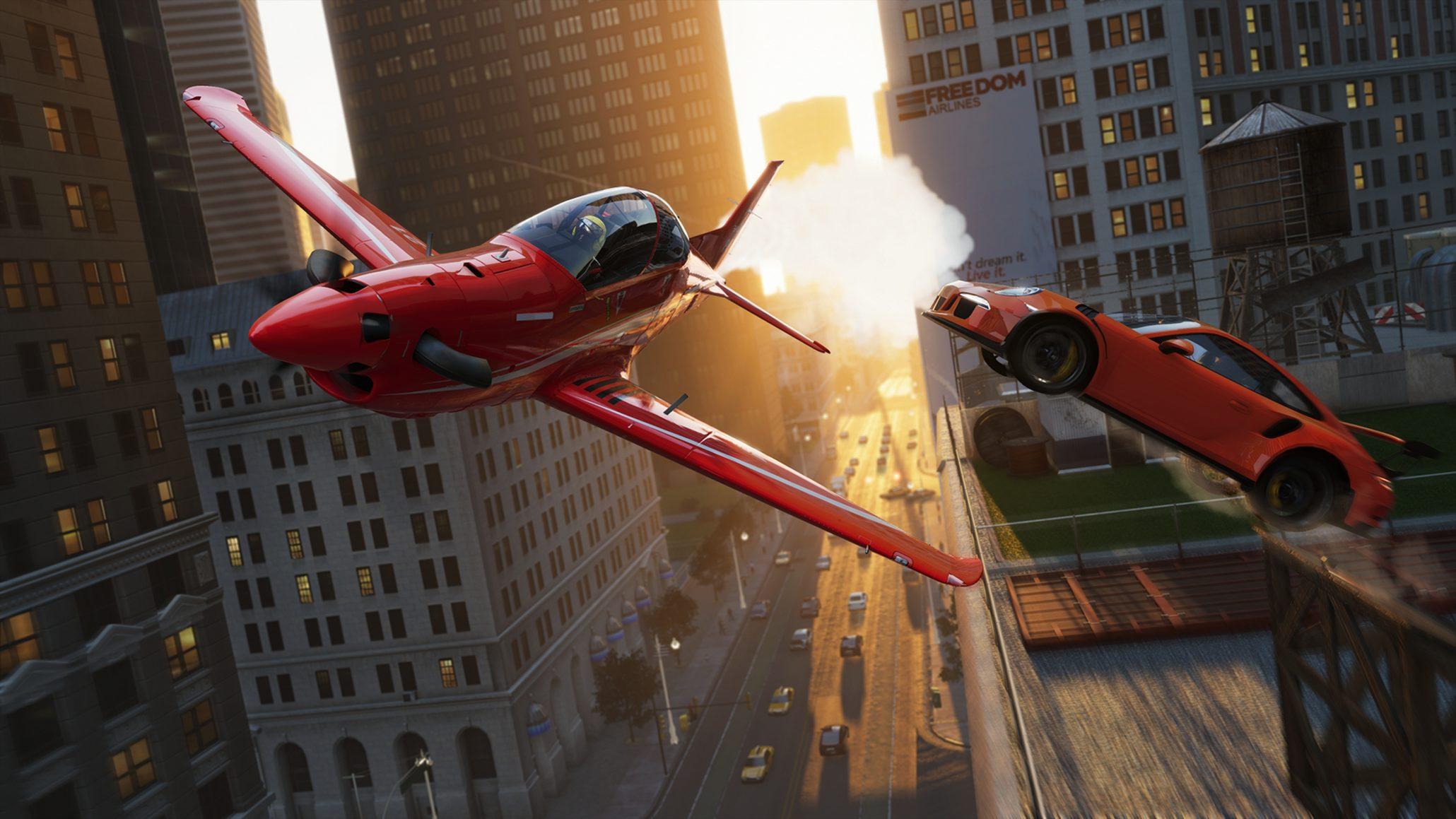 the crew 2 plane gameplay