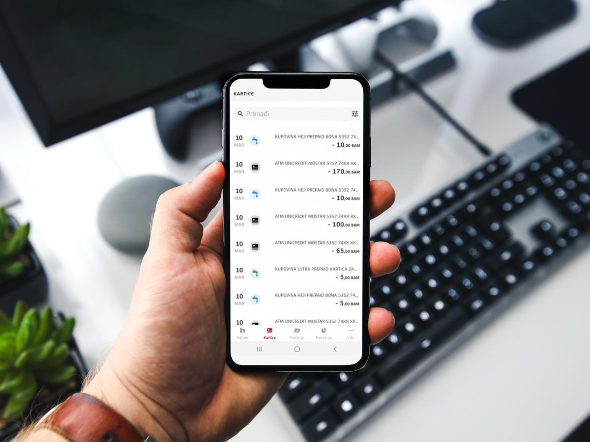 nova mbank aplikacija ucbl