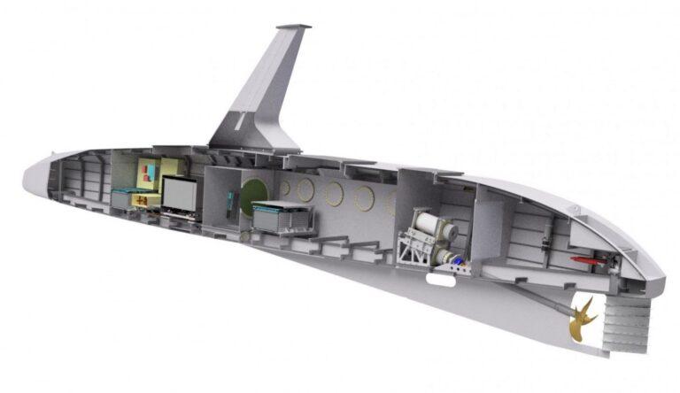 Brod s umjetnom inteligencijom unutrašnjost
