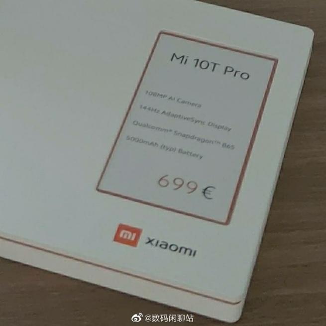 Xiaomi Mi 10T Pro stiže u Evropu